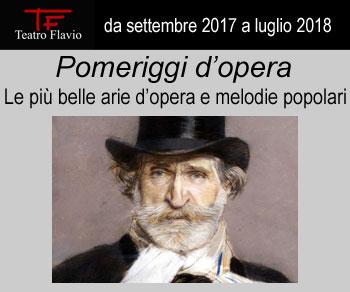 Le più belle arie d'opera e melodie popolari fino a luglio 2018