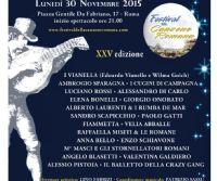 Locandina: Festival della canzone romana