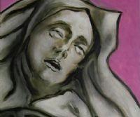 Locandina: La Dimensione spirituale di Santa Teresa D'Avila nelle opere di Guadagnuolo
