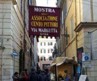 Locandina: I Cento Pittori di Via Margutta