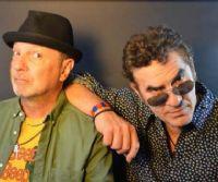 Locandina: Sergio Caputo e Francesco Baccini tornano live