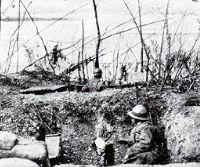 Locandina: Trincee '14/18 - la Grande Guerra negli occhi di un soldato
