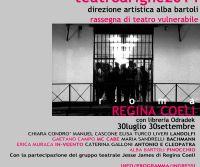 Locandina: Teatro a Righe 2014/Regina Coeli con libreria Odradek