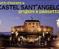 Locandina: Castel Sant'Angelo con prigioni e passetto