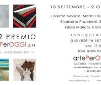 "Locandina: "" 5+2  Premio artePerOGGI 2014 """