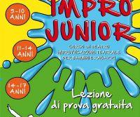 Locandina: Corso d'improvvisazione teatrale per bambini e ragazzi