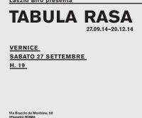 Locandina: Laszlo Biro presenta Tabula rasa