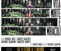 Locandina: Vita morte e miracoli