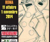 "Locandina: In mostra a Roma ""L'Arte Maivista di Vincenzo Sparagna"""