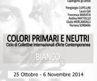 Locandina: Colori Primari e Neutri - BIANCO