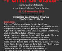 """Locandina: """"Punti di Vista"""" - pittura, scultura, fotografia"""
