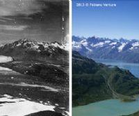 Locandina: Sulle tracce dei ghiacciai