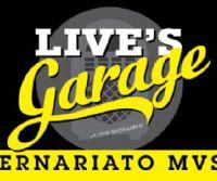 """Locandina: Il Fascino di un Mito """"Live's Garage """"modernariato museum"""""""