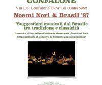 Locandina: Noemi Nori & Brasil '87