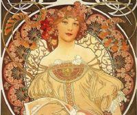 Locandina: Alphonse Mucha. Tra Art Nouveau e Utopia