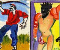 Locandina: I pittori del '900 e le carte da gioco