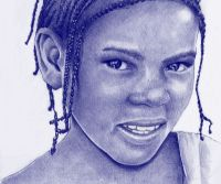Locandina: Africa a Bolígrafo
