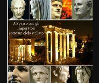 Locandina: A Spasso con gli Imperatori sotto un cielo stellato