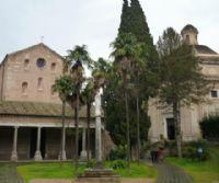 Locandina: L'Abbazia delle Tre Fontane, la sorgente delle Acque Salvie e la fabbrica di cioccolato dei Frati Trappisti