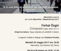 Locandina: Ferhat Özgür, Conquest