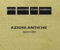Locandina: Azioni antiche opere e libri