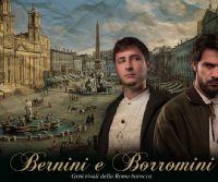 Locandina: Bernini e Borromini: geni rivali nella Roma Barocca
