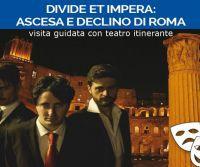 Locandina: Divide et Impera ai Fori Imperiali