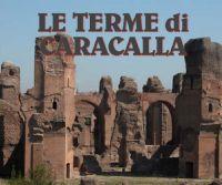 Locandina: Le Terme di Caracalla
