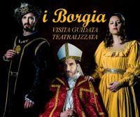 Locandina: La Roma dei Borgia: protagonisti, luoghi, malefatte, amori