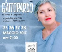 Locandina: Maria Paiato legge Il Gattopardo