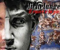 Locandina: Michelangelo Buonarroti: il cuore e la pietra con il Mosé di S.Pietro in Vincoli