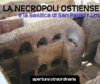 Locandina: La Necropoli Ostiense e la Basilica di San Paolo