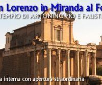 Locandina: San Lorenzo in Miranda ed il Museo degli Speziali
