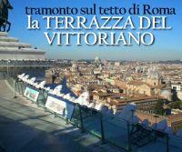 Locandina: Tramonto sul tetto di Roma dalla terrazza del Vittoriano