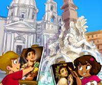 Locandina: Roma per bambini