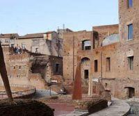 Locandina: Bruno Liberatore in dialogo ambientale con i Mercati di Traiano