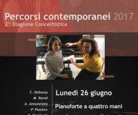 Locandina: Concerto a quattro mani