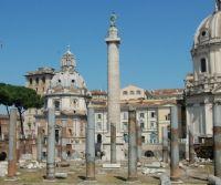Locandina: La Colonna Traiana nei disegni di Vincenzo Camuccini