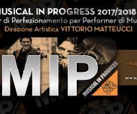 Locandina: Bando di ammissione M.I.P. Musical in Progress