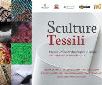 Locandina: Sculture Tessili