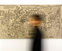 Locandina: La Mostra dei disegni di Saleh Kazemi