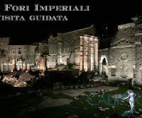 Locandina: I Fori Imperiali illuminati