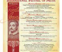 Locandina: Frescobaldi International Festival of Music