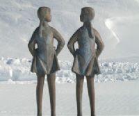 Locandina: Manzù. Le donne e il fascino della figura