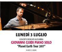 Locandina: Giovanni Guidi Piano Solo