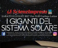 Locandina: I Giganti del Sistema Solare