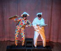 Locandina: Arlecchino e Pulcinella Misterioso
