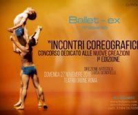 Locandina: Incontri coreografici