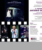 Locandina: Il teatro di Antonio Calenda