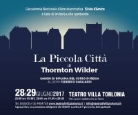 Locandina: La Piccola Città di Thornton Wilder